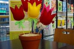 tvoření tulipán
