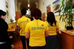 dobrovolníci v akci
